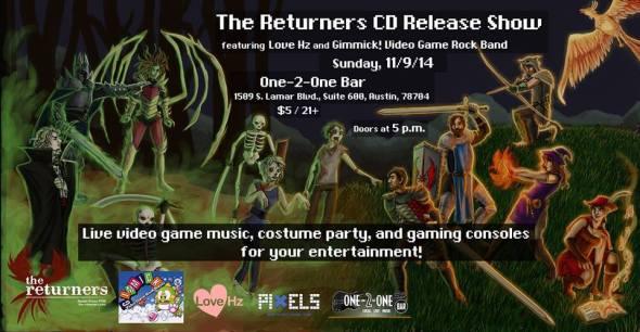 Returners Album Release Party
